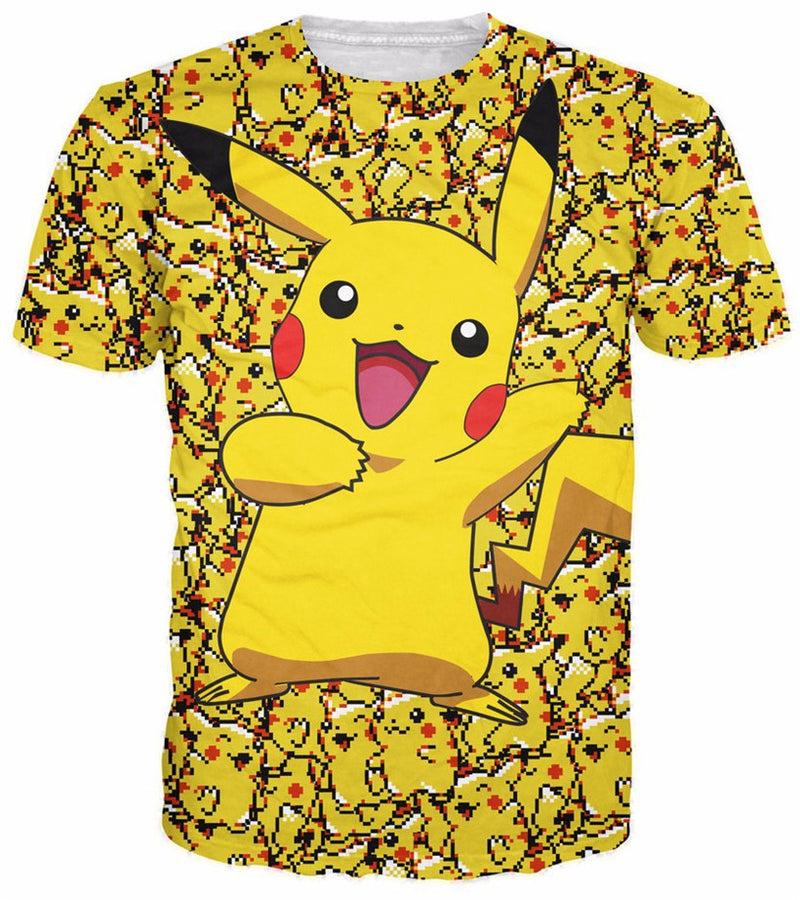 New Fashion Pikachu T-shirt