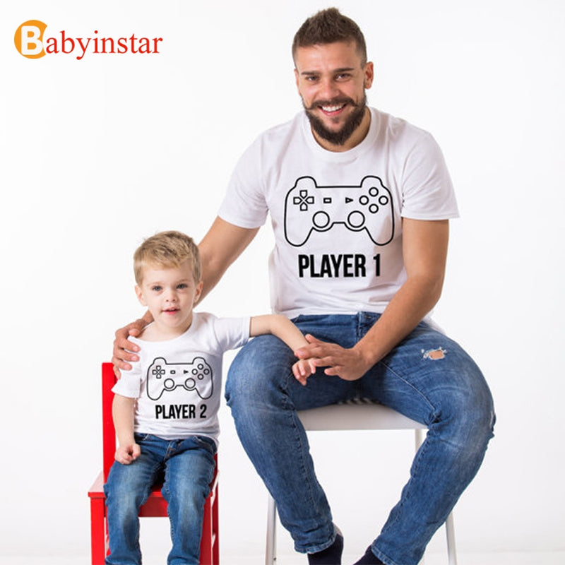 Funny Player Printed Summer Short Sleeve T-shirt