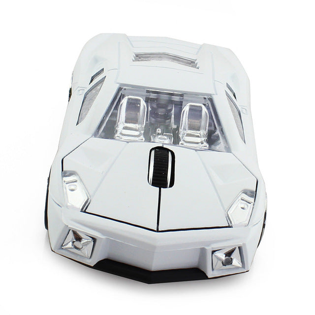 Racing Car Shaped Mouse