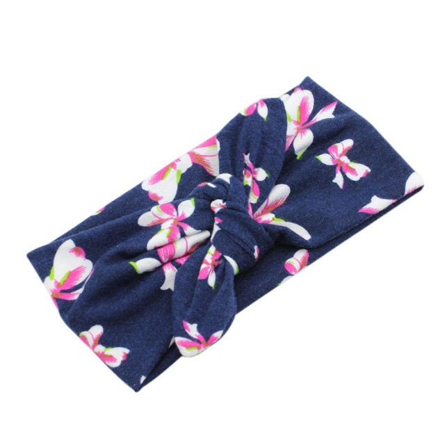 Bohemian Printed Cross Hairband