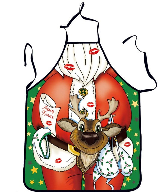 Apron Funny Christmas Decoration