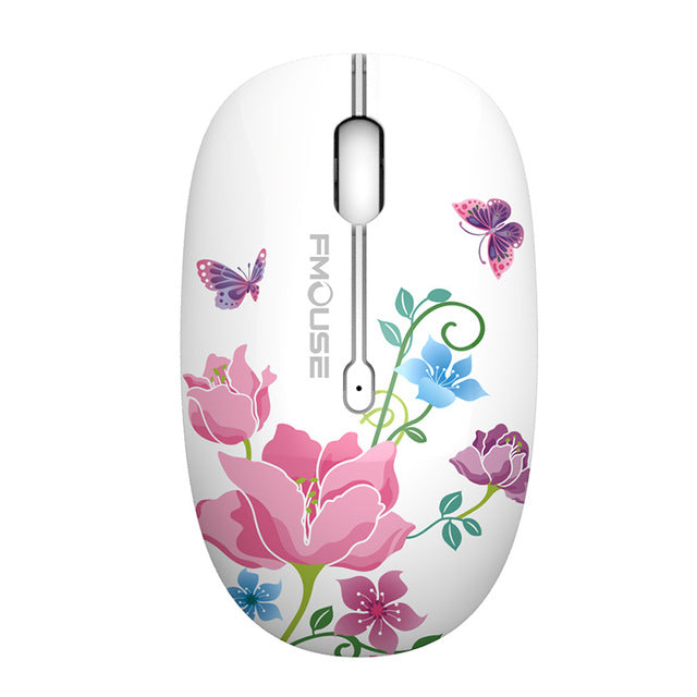 Cute Painted Gaming Mouse