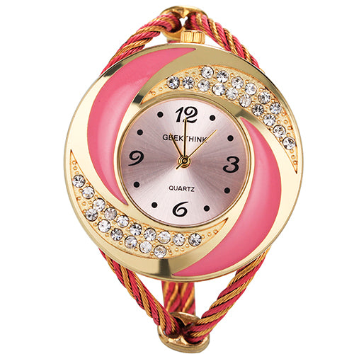 Bangle Quartz Casual Watch