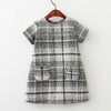 Autumn Girls Wool Dress