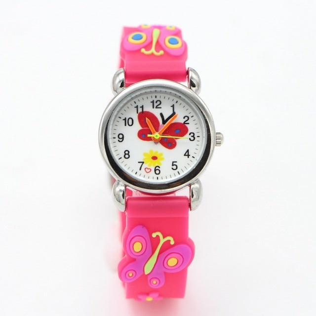 Butterfly Design Analog Watch