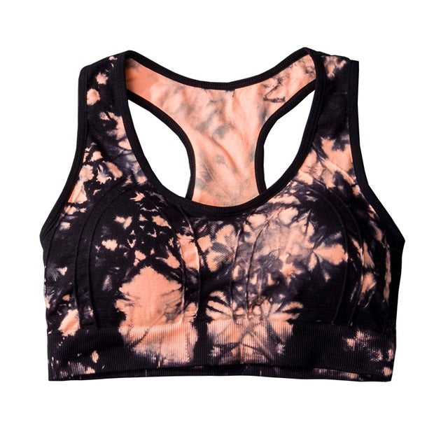 Running Yoga Shirt Bra