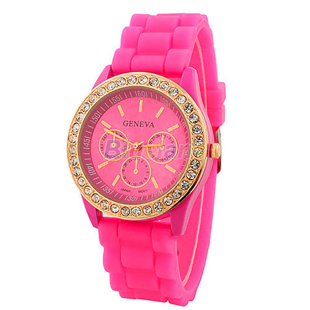 Geneva Silicone Watch
