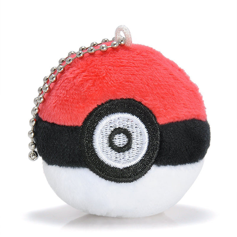Lovely Red Pokeball Keychain
