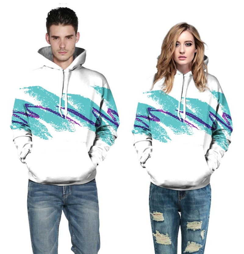 Watercolor Digital Printing Hoodies