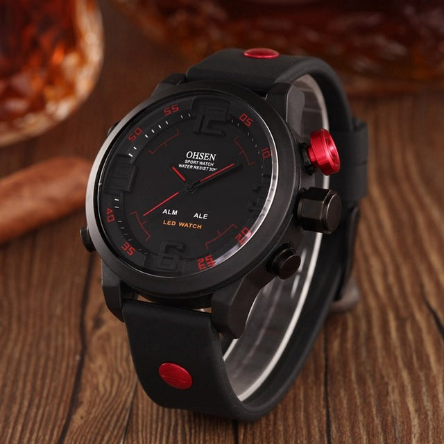 Fashion Ohsen Led Digital Watch