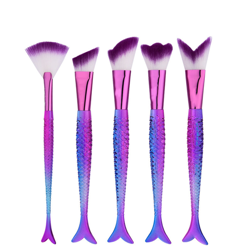 New Mermaid Make Up Brushes