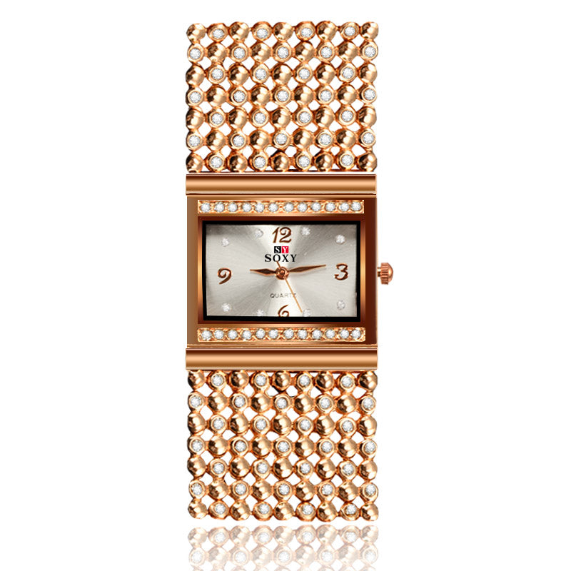 Women Luxury Golden Watch