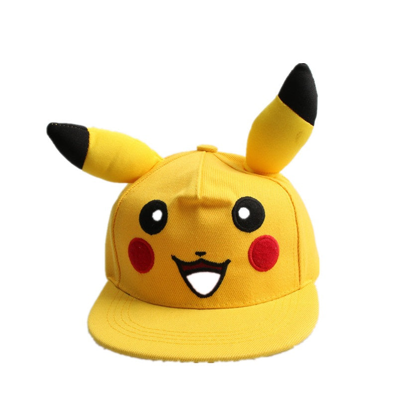 Cute Pikachu Flat Hat