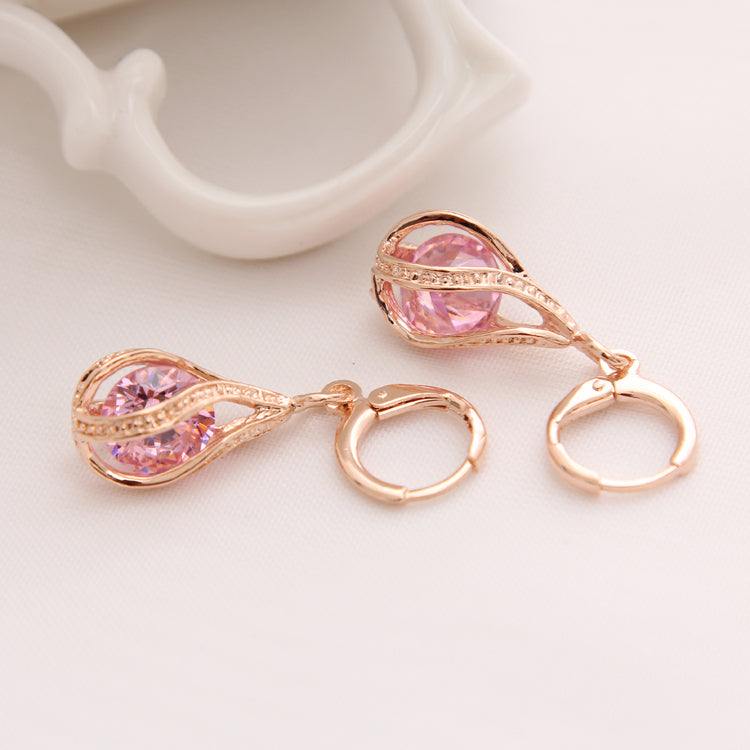 Fashion Gold Color Earrings
