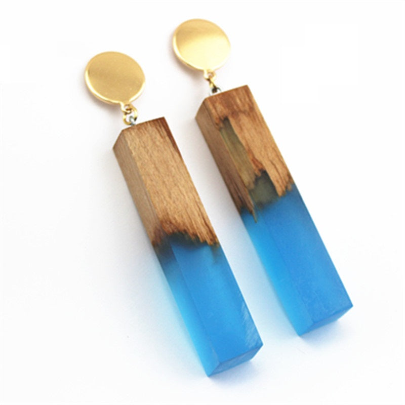 Geometric Rectangular Earrings