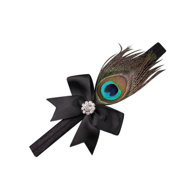 Crystal Peacock Hair Band Accessories