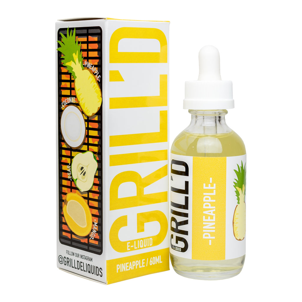 Grilled Pineapple By GRILL'D E-Liquid - VaporSpot.com