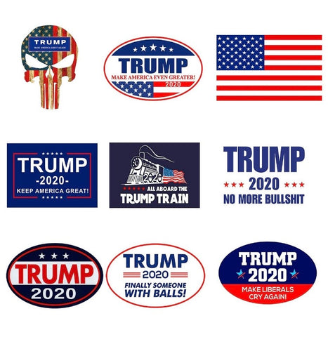 Trump 9 Sticker Super Pack