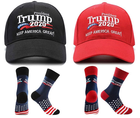 Trump Cap and Socks