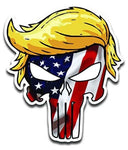 Trumpisher American Flag Vinyl Decal