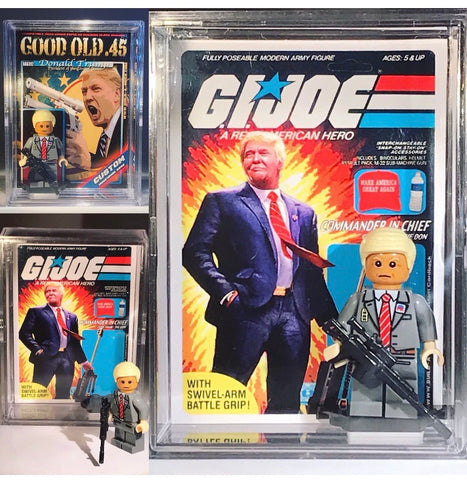Trump ( G.I. Joe ) Collective LEGO Figure