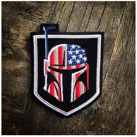 Bounty Hunter US Flag Patch