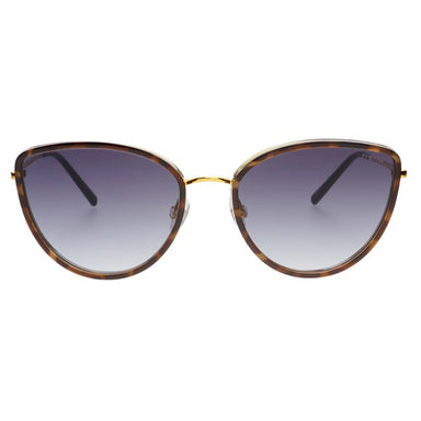 Luna Tortoise Cat-eye Sunglasses