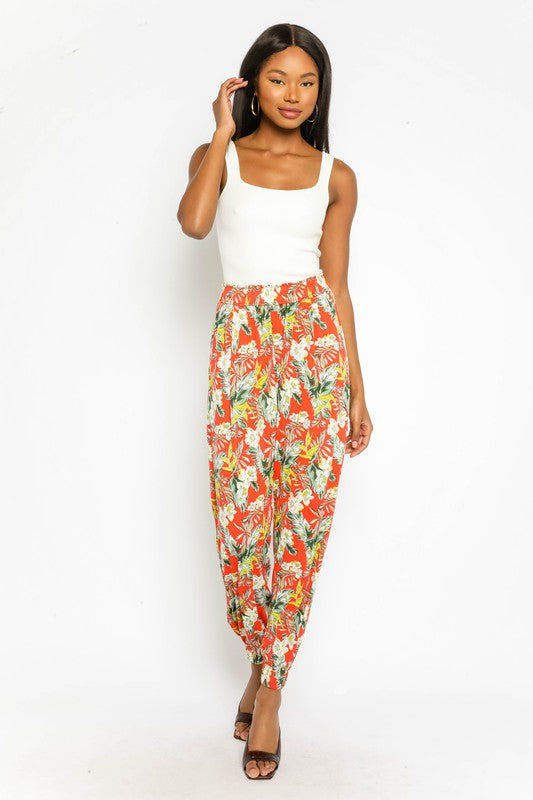 Bright Tropical Pant