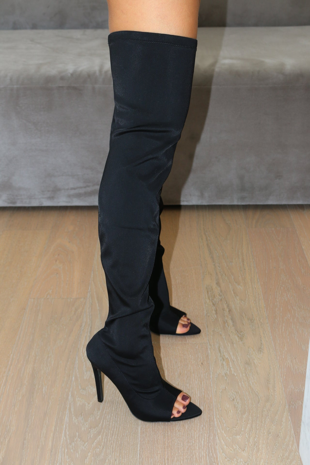 CARMY LONG THIGH HIGH BOOTS
