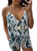 VENUS TIE-DYE PRINT CAMI TOP with matching shorts