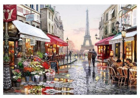 A Rainy Day in Paris - GemPaint™ Kit