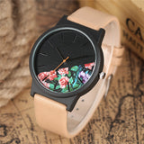 Unique Half Face Quartz Watch