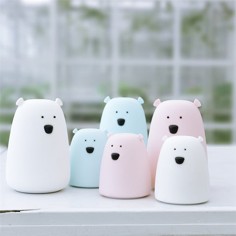 Bera - Silicone Bear Night Light
