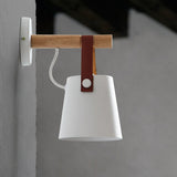 LED Wooden Nordic Wall Lamp