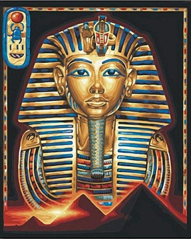 Tutankhamen Egyptian Sunset - GemPaint™ Kit