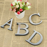 Alfa - 3D Letter Mirror Wall Stickers