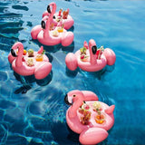 Rosalie - Floating Flamingo Cup Holder