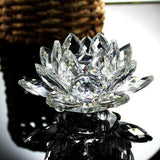 Glass Crystal Lotus Flower