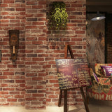 Carter - Rustic Vintage 3D Faux Brick Wallpaper Roll