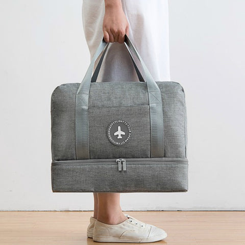 Khalo - Double Layer Travel Bag