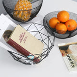Voce - Modern Nordic Geometric Metal Baskets