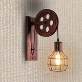 Loft - Industrial Vintage Pulley Wall Mounted Lamp