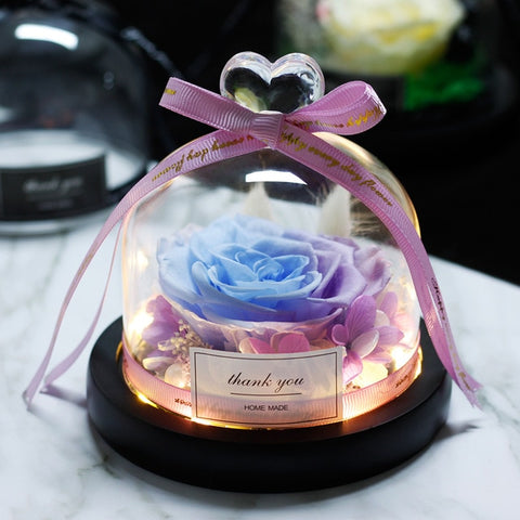 Rosa - Immortal Fresh Rose Glass Dome