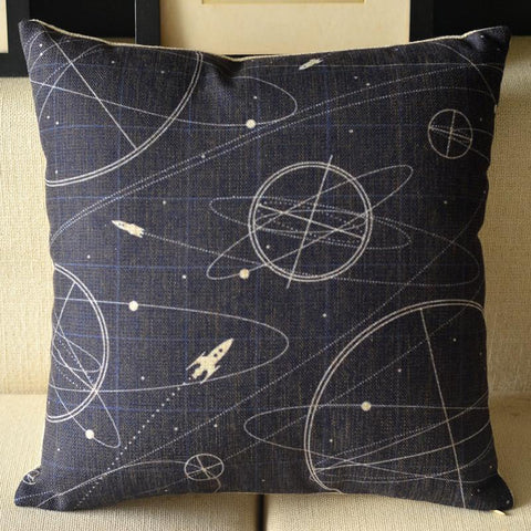 Galaxies Pillow