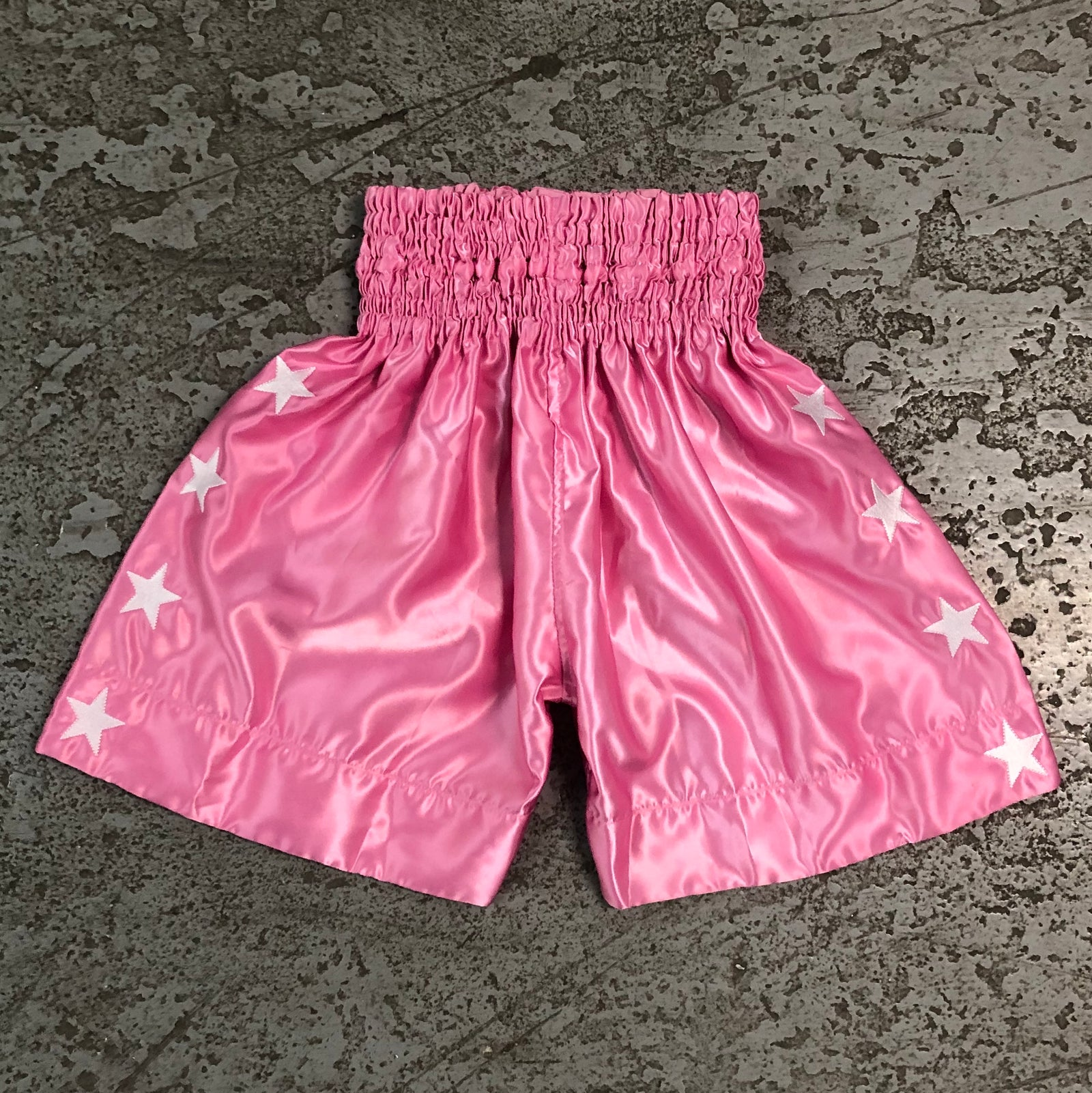 Throwback Fight Trunks - Pink