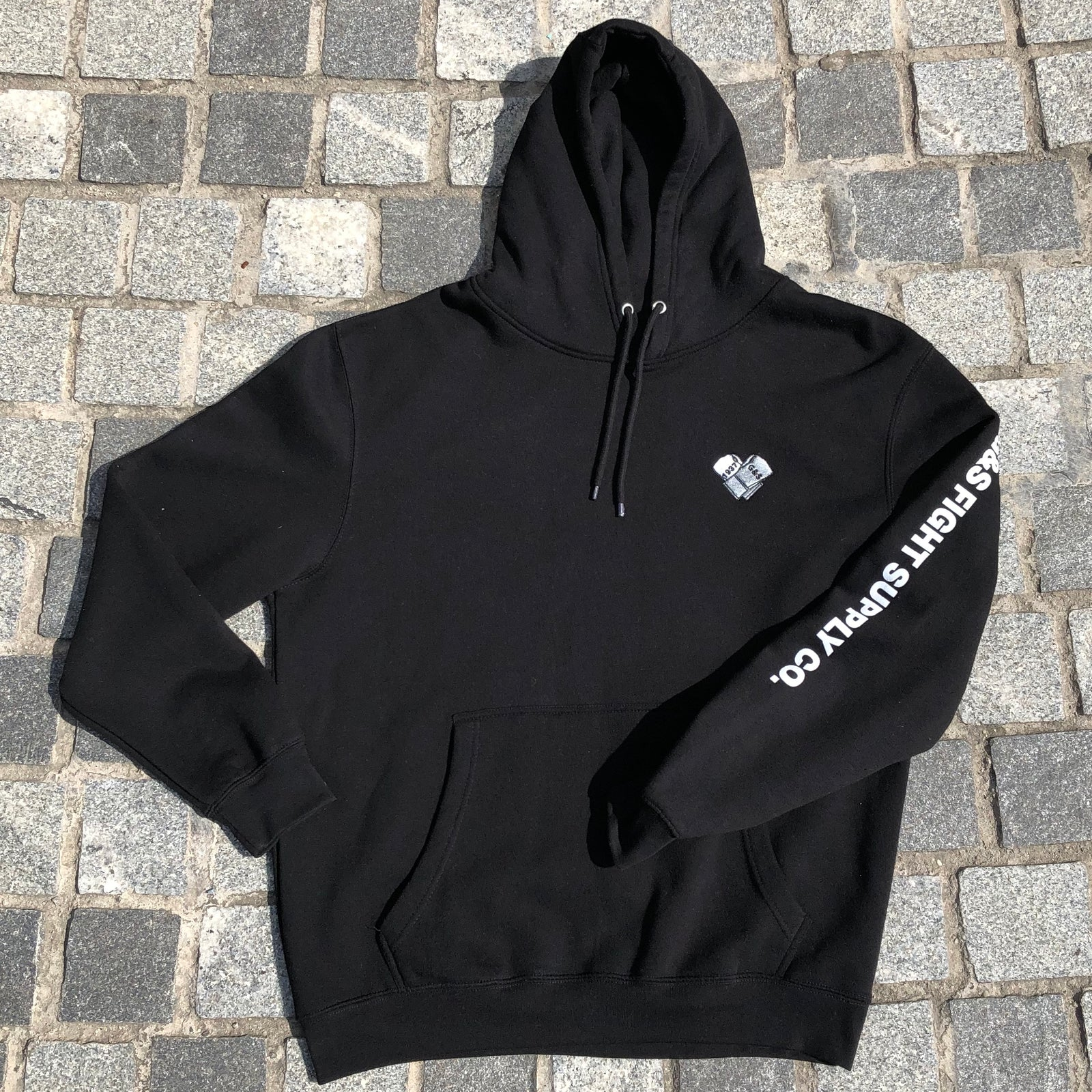 G&S Crossed Glove Embroidered Hoodie - Black