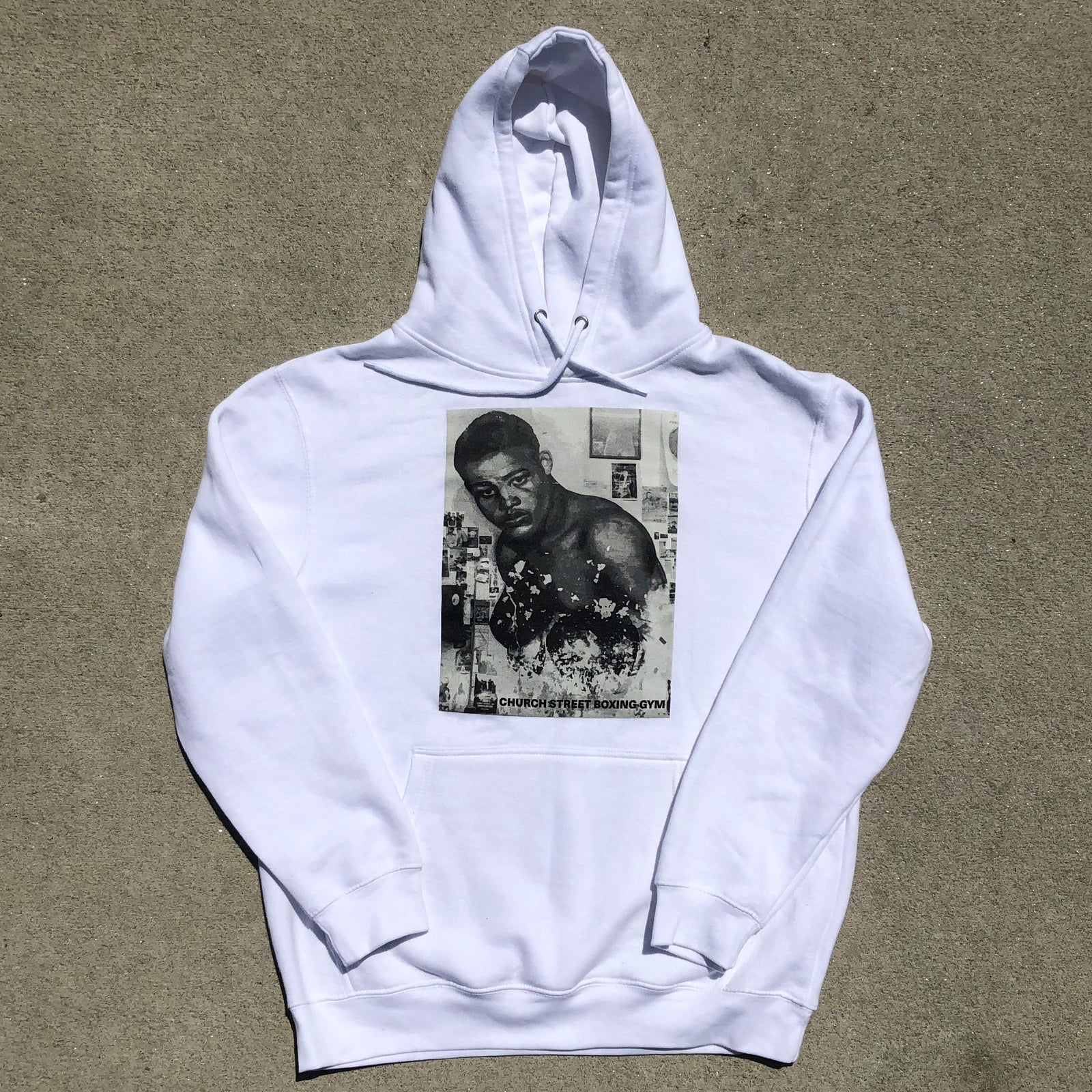 The Joe Louis Mural Hoodie