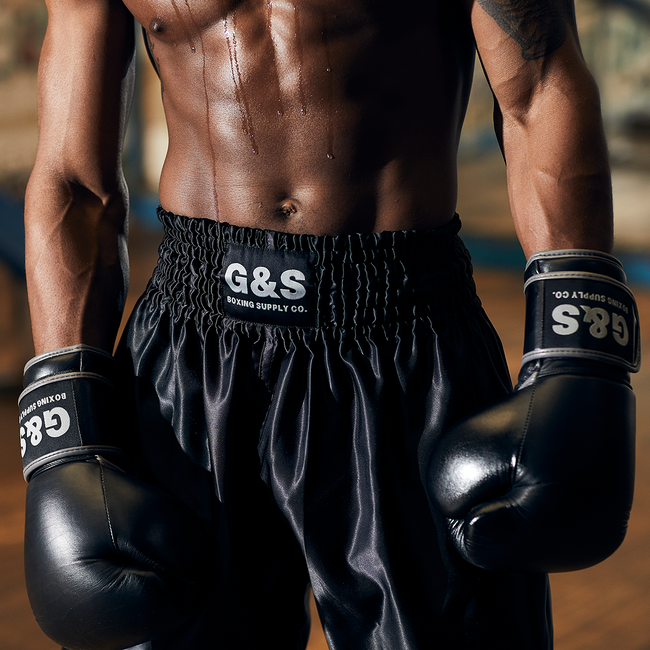 Fight Night Trunks - Black