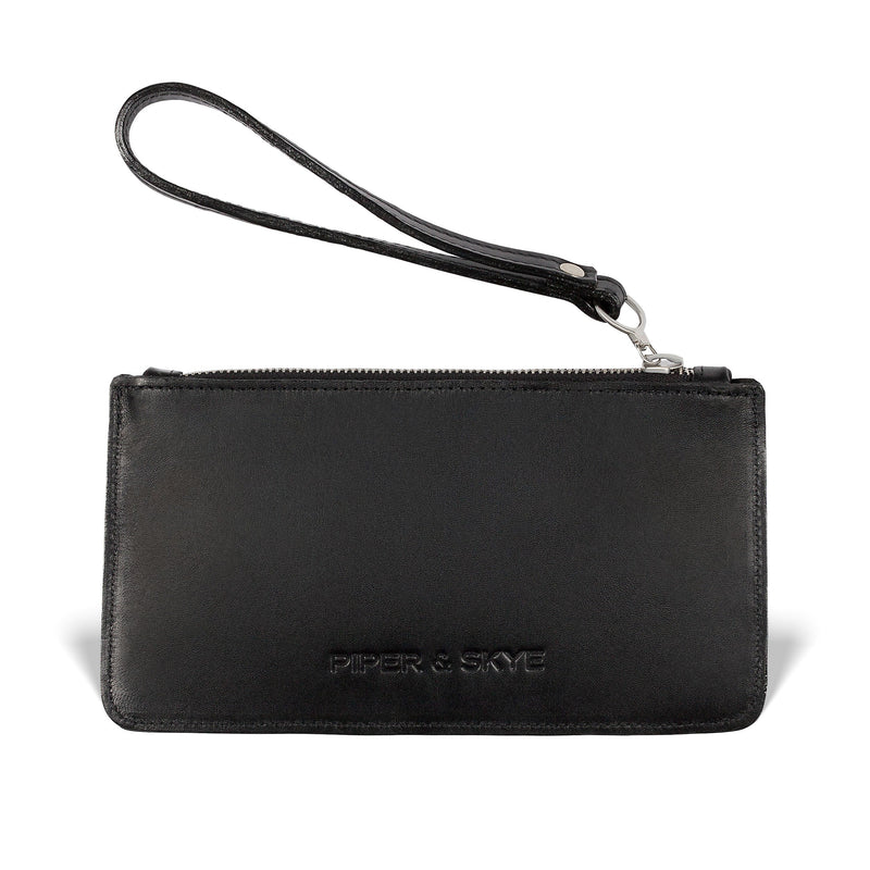 Daya Pouch - Midnight Black Pirarucu