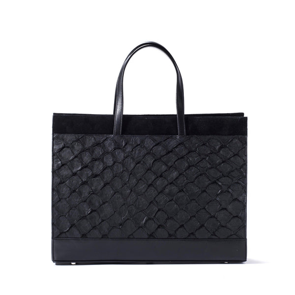 Braemar Tote - Midnight Black